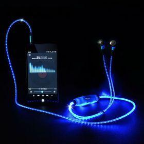 Ακουστικά με Φωτισμό Led για Όλα τα Κινητά (Κινητά & Αξεσουάρ)